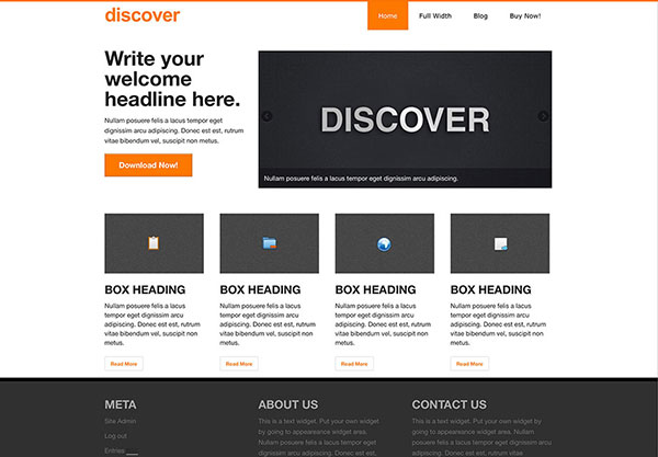 Discover theme