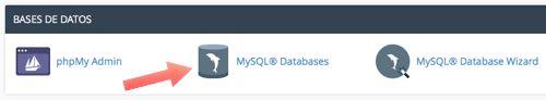 mysql database hacer click