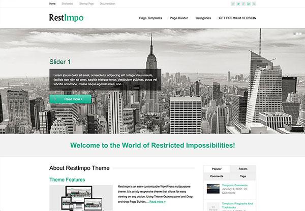 restImpo theme