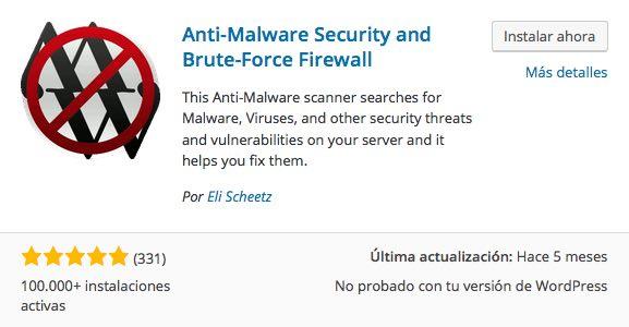 antimalware wordpress