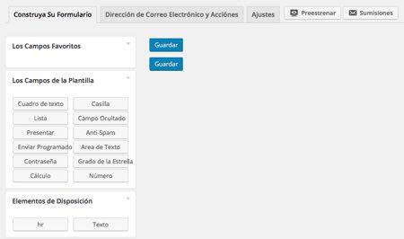 crear nuevo formulario en wordpress