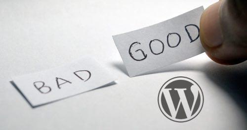 wordpress bueno es muy bueno