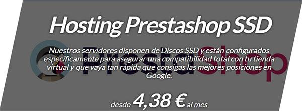 Hostinet SSD PrestaShop