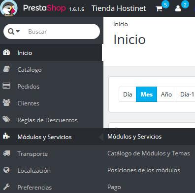 PrestaShop - Modulos y Servicios