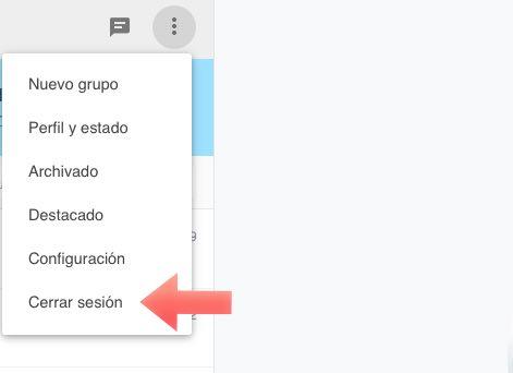 cerrar sesion WhatsApp desde navegador