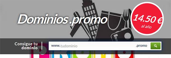 dominios promo 14,50 €