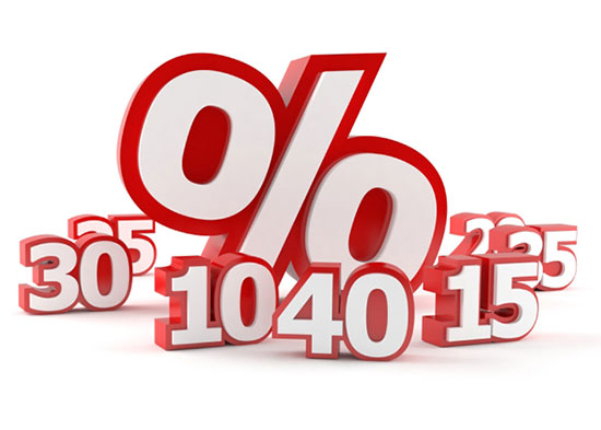 porcentajes  %