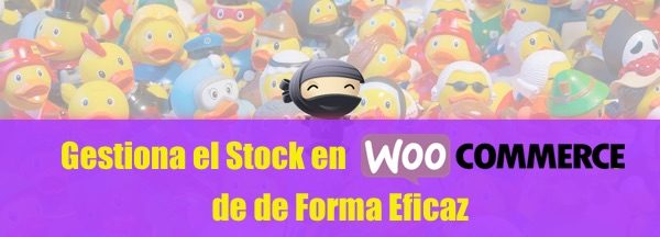 gestiona stock woocommerce