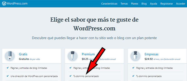 Cómo poner mi Dominio en WordPress.com