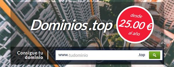 Dominios .TOP