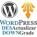 wordpress desactualizar downgrade