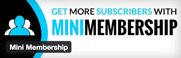 Mini Membership WordPress