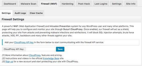 firewall waf sucuri