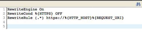 htaccess joomla editado para SSL