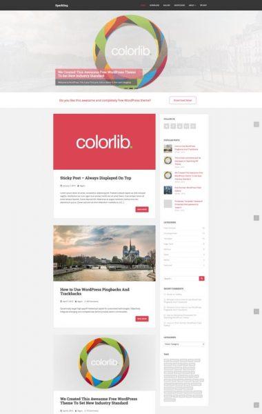 sparkling theme responsive wordpress