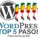 WordPress Top 5 Pasos