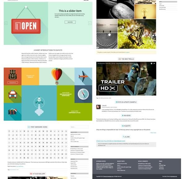 farben wordpress theme