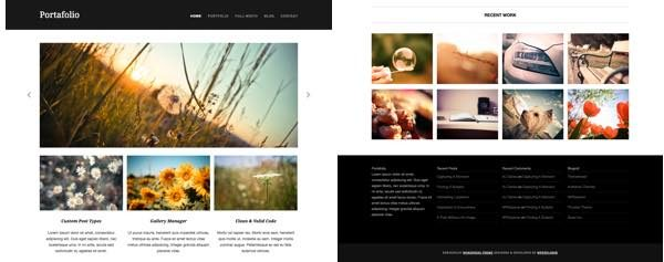 portafolio theme wordpress