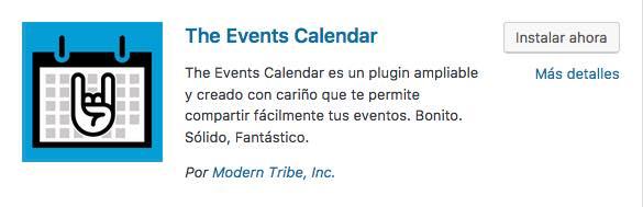 event calendar plugin wordpress