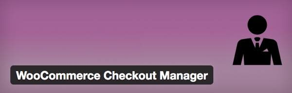 Checkout Manager plugin woocommerce