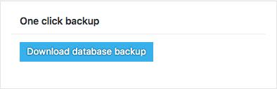 backup 1 click en BackWPup