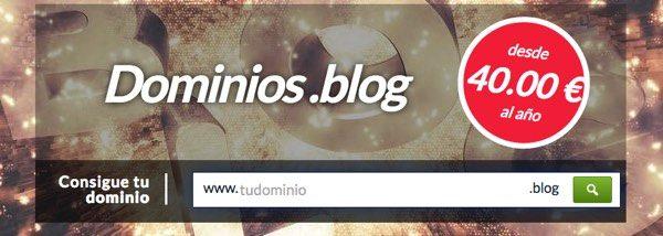 dominios .blog hostinet