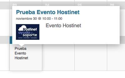 prueba evento events calendar