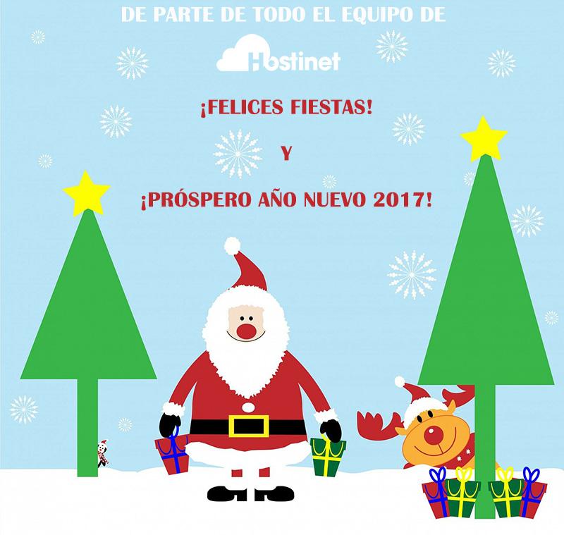 Felices Fiestas 2016 Hostinet