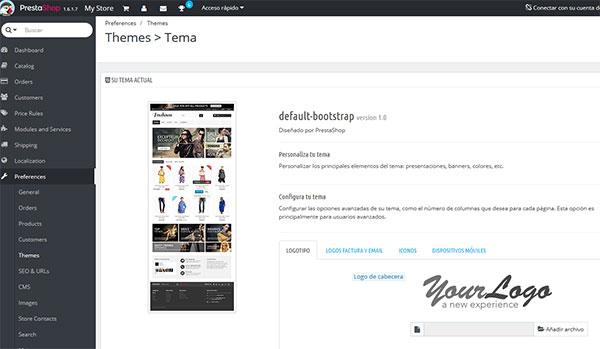 Hostinet Prestashop Completa Theme Default Bootstrap