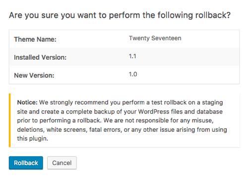 Cómo Desactualizar WordPress, Temas y Plugins