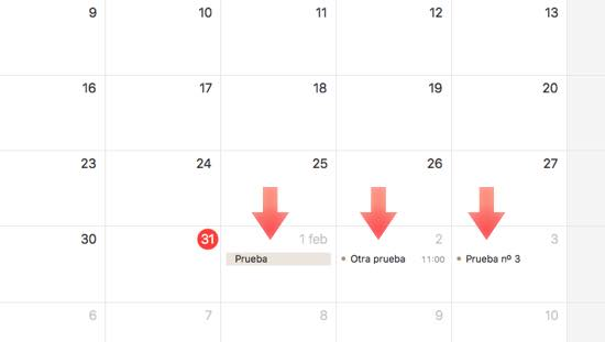 calendario macos sincronizado
