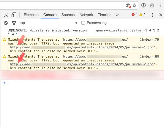 consola Google  Chrome