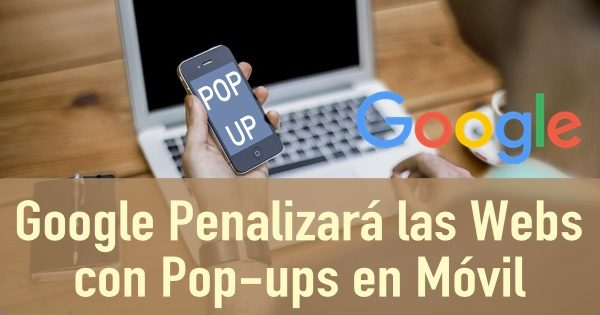 google popups penalizacion