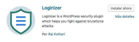 loginizer security wordpress