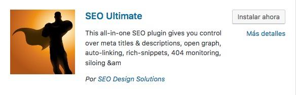 seo ultimate plugin wordpress