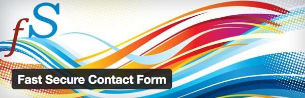 Fast Secure Contact Form wordpress plugin