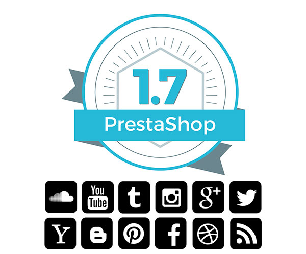 PrestaShop 1.7 Redes Sociales