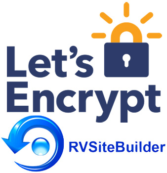 lets encrypt rvsitebuilder