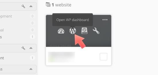loguearse wordpress managewp