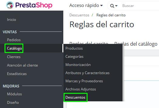 e7307620717b Cómo Crear un Cupón Descuento en PrestaShop 1.7