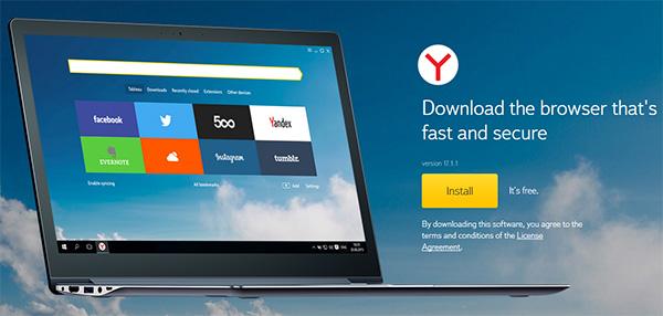 Yandex Browser PC