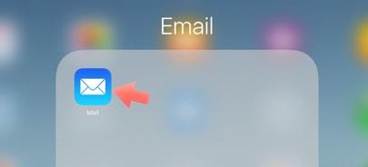 app mail en iPad