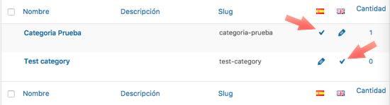 categorias traducidas polylang