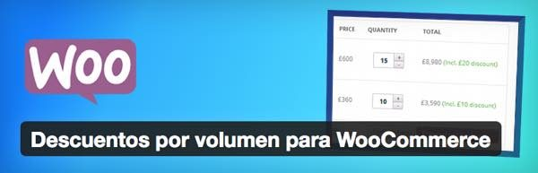 descuento volumen woocommerce wordpress