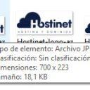 hostinet logo archivo dimensiones tamaño