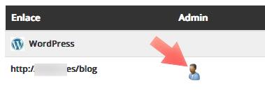 icono administrador wordpress