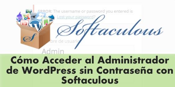 softaculous admin wordpress
