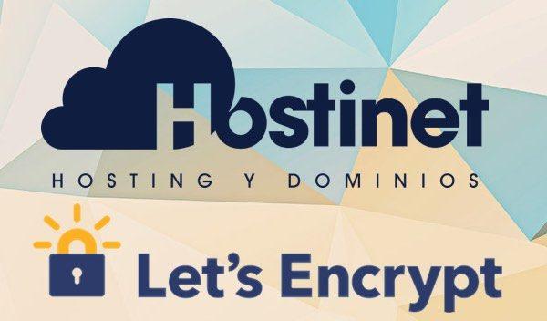 Certificados SSL gratuitos de Let's Encrypt en Hostinet