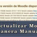 Cómo Actualizar Moodle de Maneta Manual