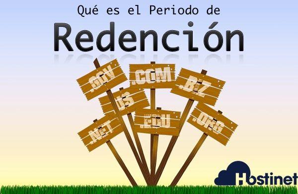 Qué es el periodo de redención de un dominio